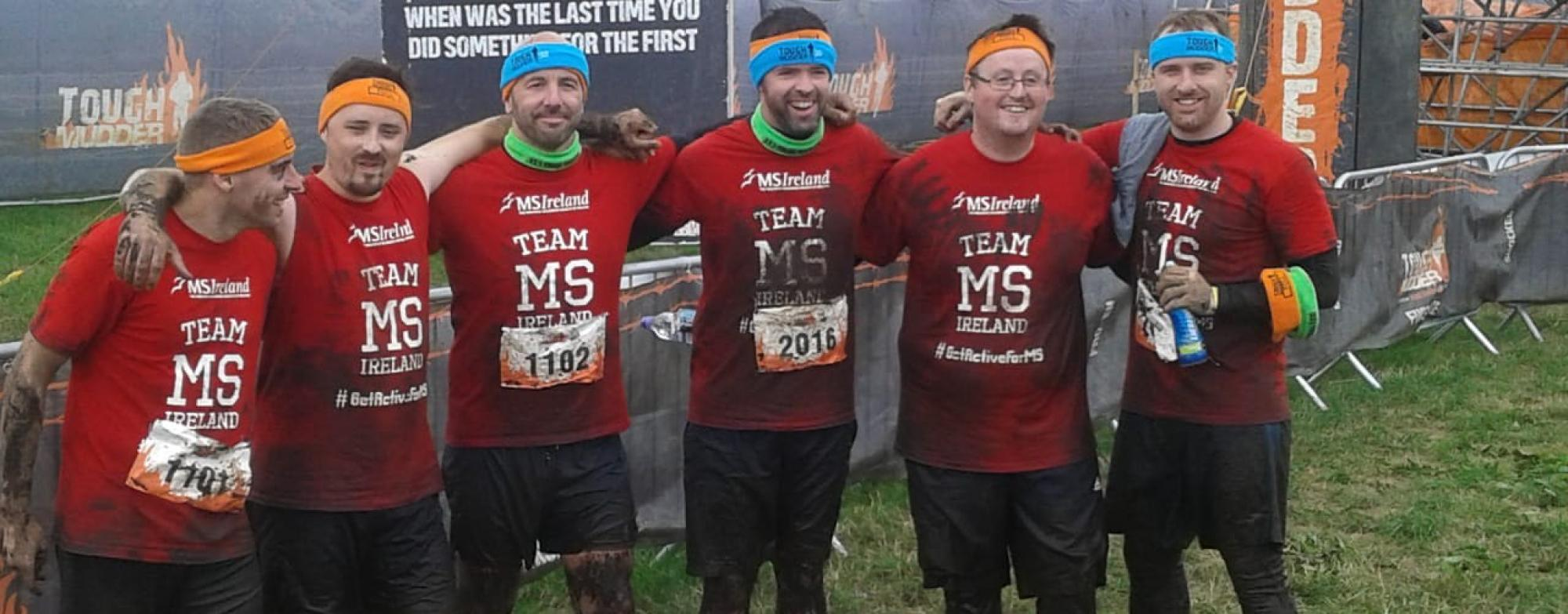Tough Mudder Group Picture