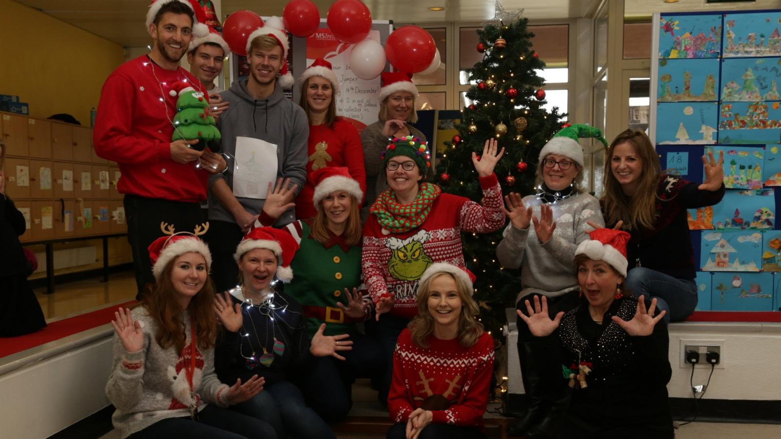Christmas Jumper Day Group